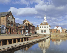 Partnerstadt Kings Lynn mit dem Custom House