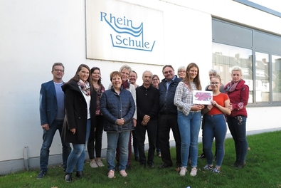 Internationales Kinderfest – Spendenübergabe